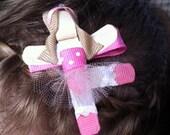 Dancing Ballerina Ribbon Sculpture Hair Customized