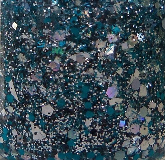 MINI Shattered Glitter Nail Polish