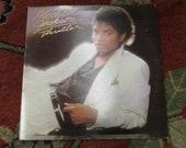 Michael Jackson Thriller Vinyl Record 33 1/3 RPM VG-EX Condition Billie Jean and More 80s Dance Music