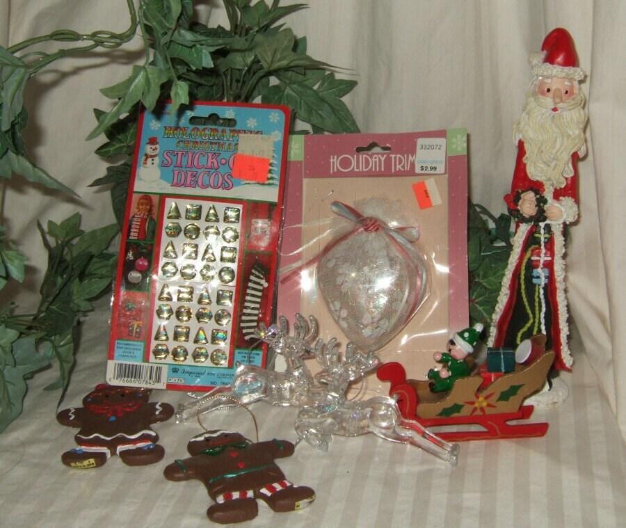 Vintage Christmas Ornament starter set vintage collector