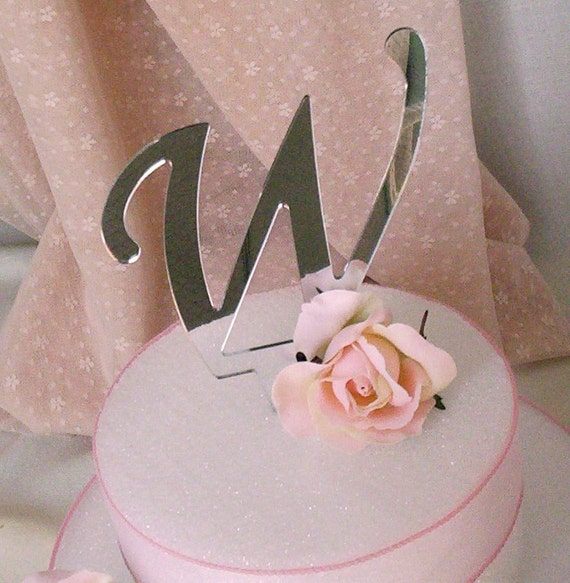 diy letter wedding cake topper cake topper monogram initial wedding by budgetweddingbouquet 13609