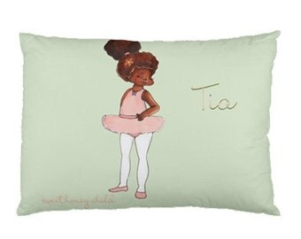 TuTu Pretty -  Sweet Dreams Personalized Pillowcases by Sweet Honey Child