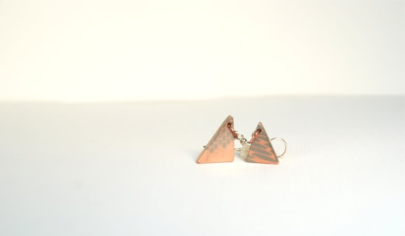 Two Triangles Geometric Modern Earrings Superconductor