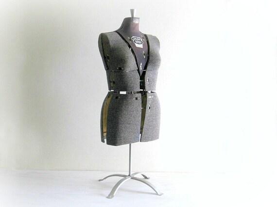 Vintage Sally Stitch Dress Form Mannequin - Size B