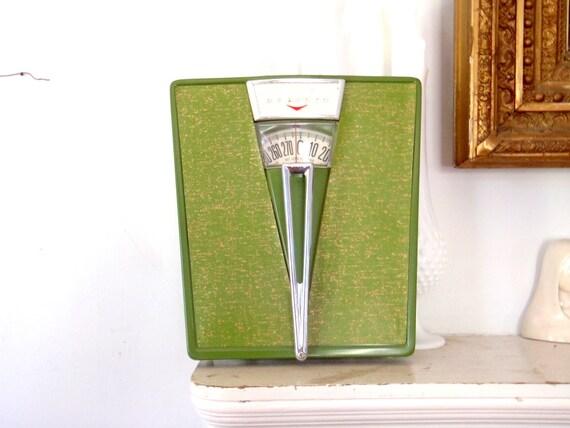 Scale Avocado Green Vintage Bathroom Scale Scales Detecto