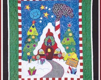 Holiday Quilt Pattern from Sand and Sun Designs