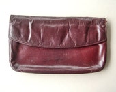 Vintage St. Thomas Leather Clutch