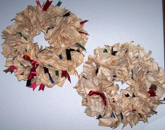Custom Harry Potter Book Wreath