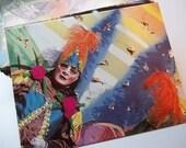 Recycled Book Envelopes New Orleans Scenes Handmade Envelopes