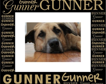 Custom Engraved Pet Photo Frame