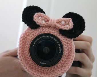 INSTANT DOWNLOAD Minnie/Mickey-inspired Camera Buddy PATTERN