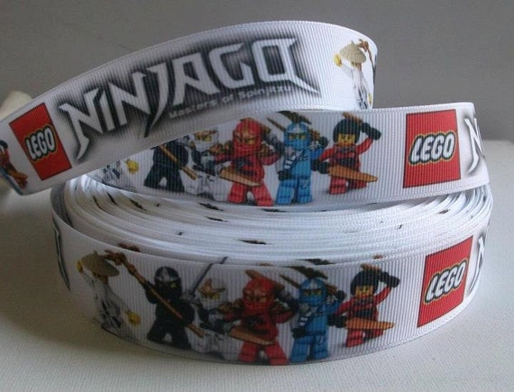 2mts Ninjago Lego, 1'' Grosgrain Ribbon, Scrapbooking, Crafts