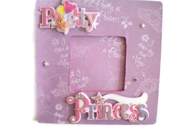 Princess Picture Frame Pink Photo Frame