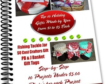 Top 10 Holiday Gifts Ideas and Step by Step Instructions Immediate Download Special 1 Dollar Value