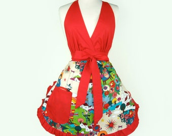 Folklorico Apron Mexican Folklore Apron   FREE SHIPPING