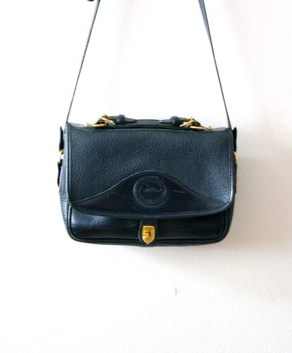 Vintage Dooney and Bourke black purse