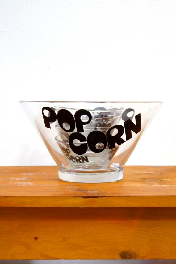Vintage Popcorn Bowl 119