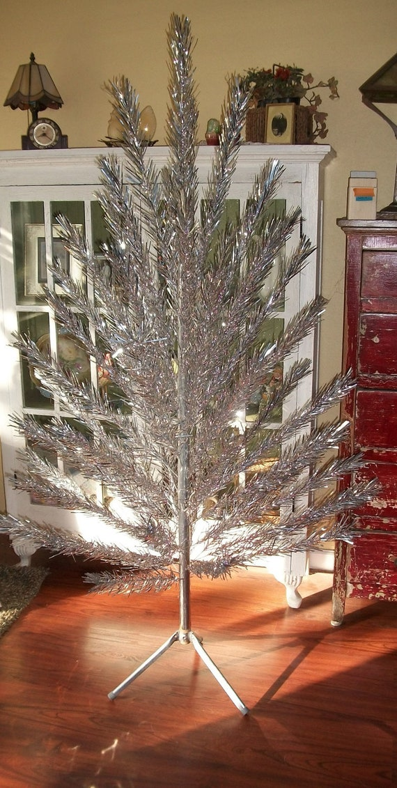 Vintage Aluminum Christmas Tree 6 Foot By Ressielillian On