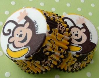 Monkey Cupcake Liners