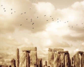 Stonehenge photograph - Magic and Mystery - fine art photography of Stonehenge in England