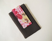 iPhone 5 Wallet - iPhone 5 Sleeve - Brown iPhone Case