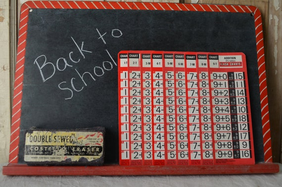 Math Flash Cards - Addition drills - 1968