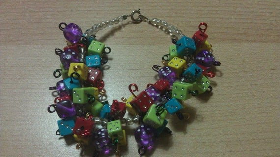 magically delicious - a chunky cha cha gamer bracelet