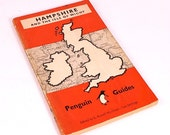 Vintage 1949 Penguin Guide to Hampshire and the Isle of White Paperback Book