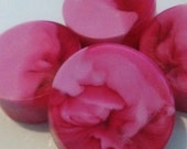 SOAP LOVERS RAIN River Girls Pink and Red Glycerin Large Handmade (1)
