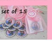 Brave birthday party favors, girls, set of 15,girls,Merida, disney princess,