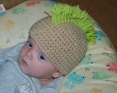 Savvy Solutions for Bald Babies - Mohawk Hat