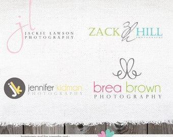 custom logo - complete custom logo - logo design - Photography Logo - Custom Logo package - branding package complete logo design set