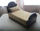 Primitive Doll Bed for Barbie & Other Similar Doll Sizes