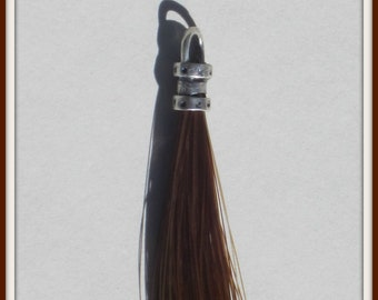 Horse Hair Tassel/Zipper Pull