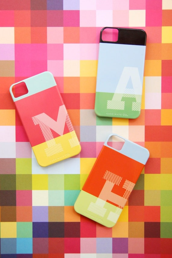 Personalized Case for iPhone & Samsung Galaxy - Rothko Monos Collection - Monogrammed
