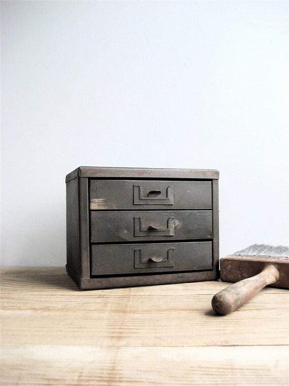 Petite Metal Cabinet