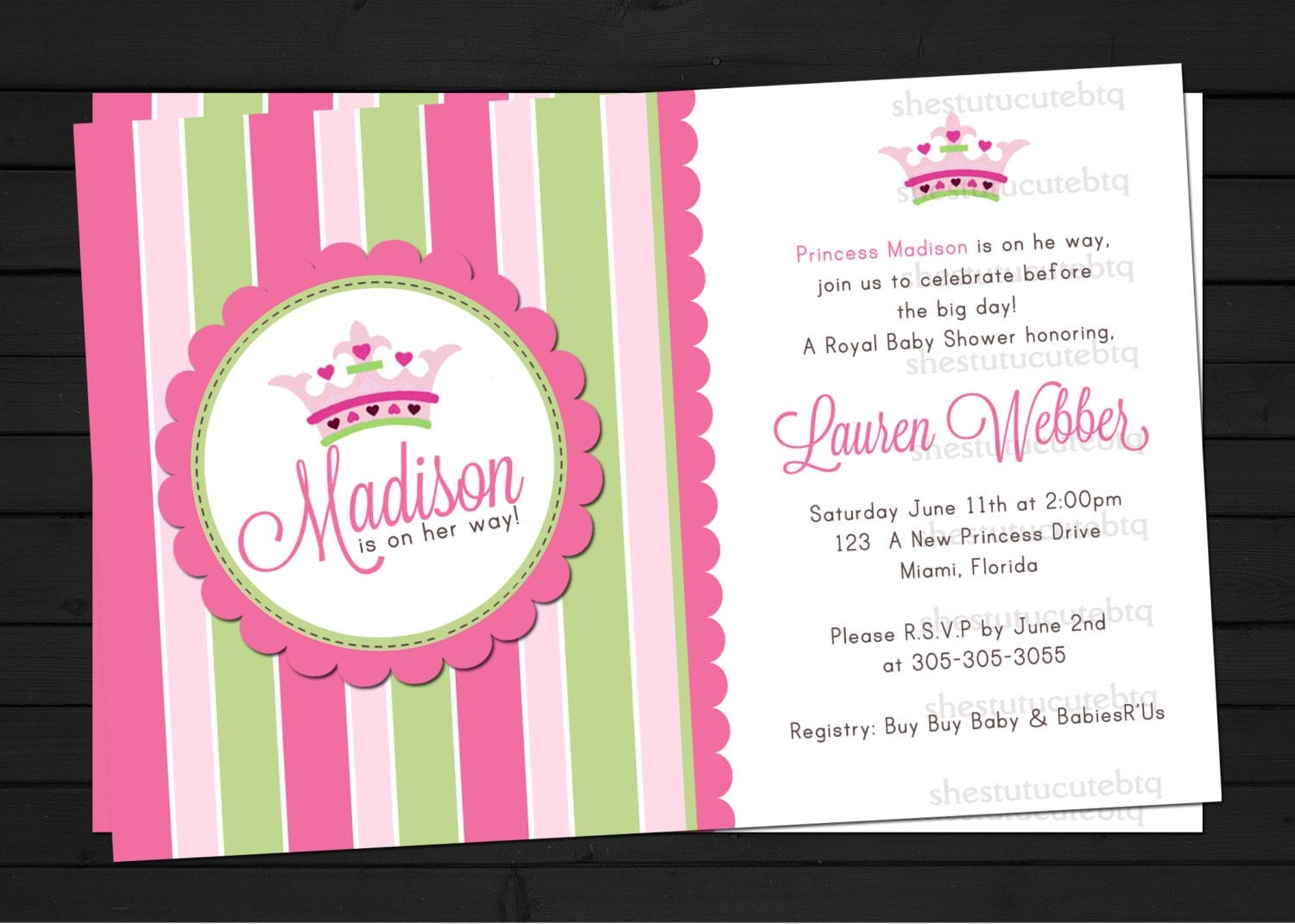 Baby Shower Princess Invitations is the best ideas you have to choose for invitation example