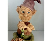 Jewish Art Character Doll Wise Elf
