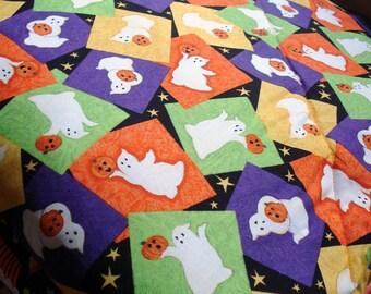 Trick or Treat Halloween Cozy - Reversible Pet Blanket