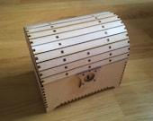 Treasure chest (birch plywood)