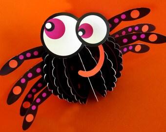 Halloween Center Piece, Decoration, Craft, Bat, Spider, Owl, Jack o Lantern, Pumpkin for kids