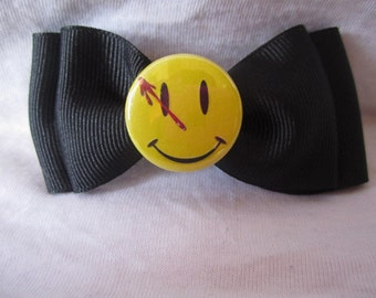 Watchmen Smiley Hair Bow