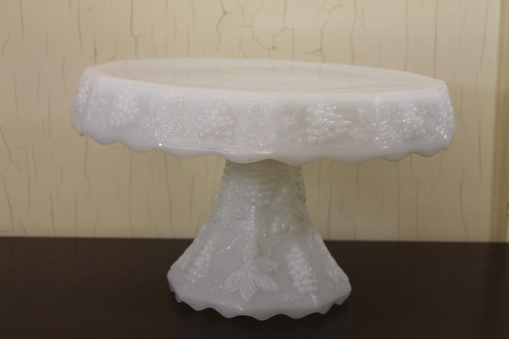 White Company Glass Cake Stand