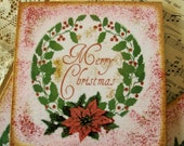 Coasters Set of 4 Christmas Coasters Holiday Gift Coasters