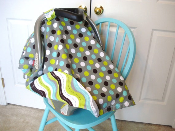 Green Car Seat Canopy Images