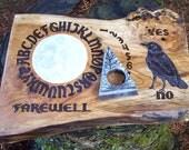 Ouija Board Crow Raven Full Moon Spirit Board With Planchette