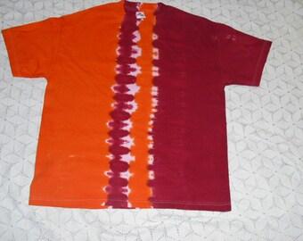 "Tie dye shirt, XL, Virginia Tech ""track"", 300"