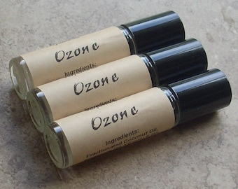 Ozone Perfume Oil, Roll On, Fresh Rain-Storm and Green Garden aroma