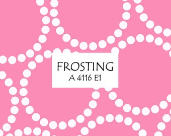 Half Yard Frosting Pearl Bracelet, Lizzy House for Andover Fabrics, 100% Cotton Fabric, A 4116 E1