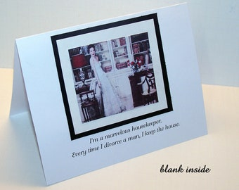 Humor Card - Handmade Humor Card - Blank Card - Funny Card